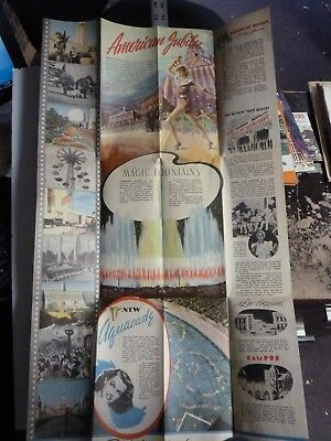 Large Color New York Worlds Fair Flyer. 1940. AB118 for sale  Allentown