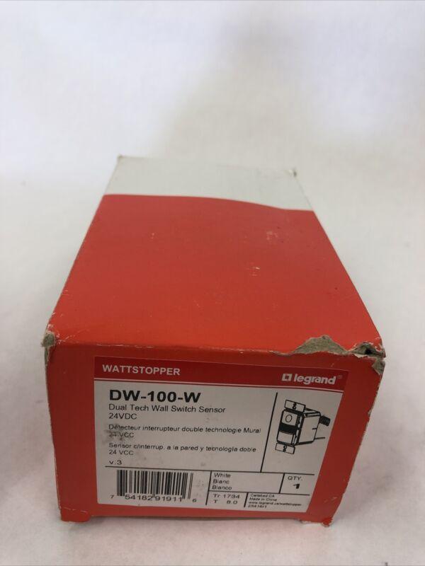 WattStopper DW100W Wall Switch Occupancy Sensor - White