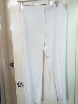 Joseph Ladies White 3/4 Trousers In Size 42-UK 12