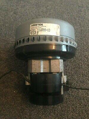 AMETEK 116555-13 vacuum motor for Numatic TTB, Adiatek, Hoover, Hako, Wetrok