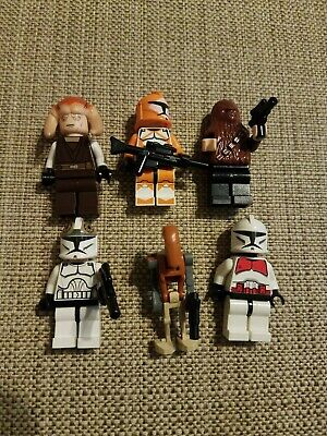 Lego star wars minifigures lot
