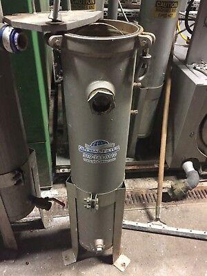 Memtec Seitz Hygienic 316L Filter Housing Pressure Vessel 125 PSI 250F 20 Gal