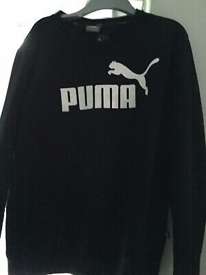 Black Puma Jumper Size S