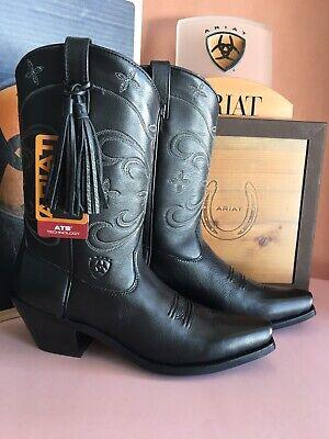 Ariat Women's Desert Star Leather Boot, Select Color/Size, First - Desert Star