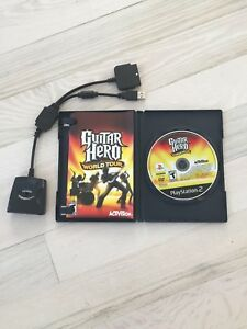 Guitar Hero DVD & Adapteur, Play Station 2, PS2