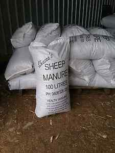Shazza's Manure - Sheep, Cow, Chook, Blended, Pine bark mulch Oakford Serpentine Area Preview