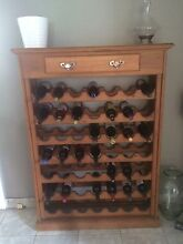 Wooden Wine Rack - 49 Bottles Marrickville Marrickville Area Preview