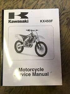 Kawasaki KX 450F Service Manual