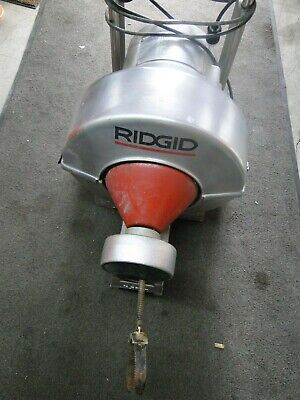 Ridgid Kollman K5800 Sewer Snake Drum Machine Roto Rooter Works Good
