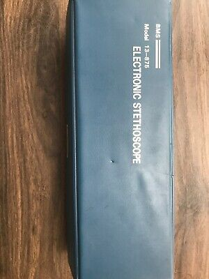 Vintage Modle 13-875 Electronic Stethoscope Bms