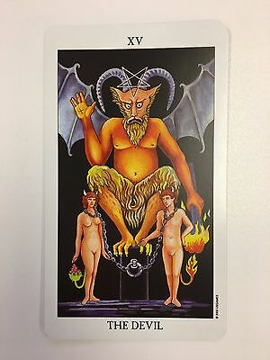 Trumps - 15 The Devil INDIVIDUAL CARD Radiant Rider-Waite Tarot (Full Size)