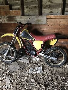 1982 yz125 liquid cooled