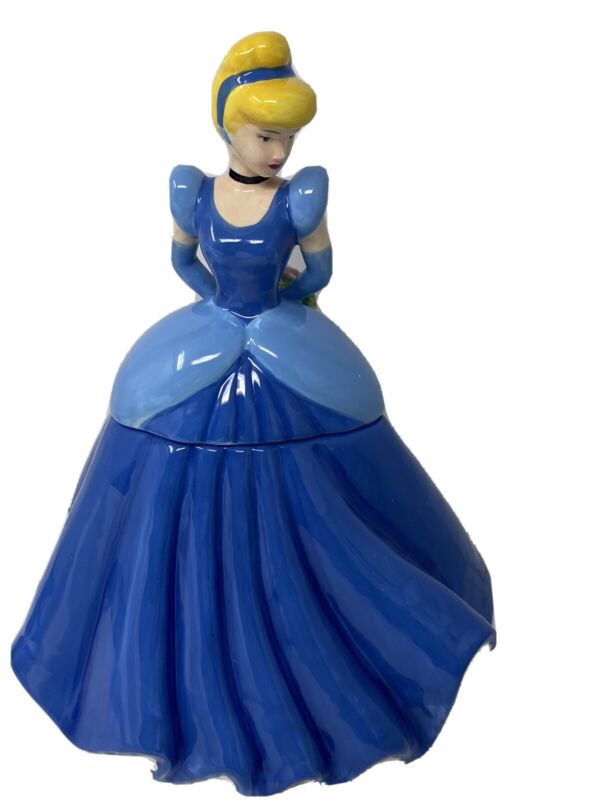 """DISNEY PRINCESS CINDERELLA MOMENT COOKIE JAR  BY GIBSON NEW IN BOX 12"""""""
