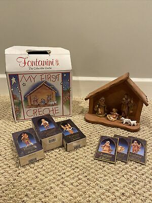 FONTANINI My First Nativity Set -Wooden Stable Holy Family Figurine EXTRA PIECES
