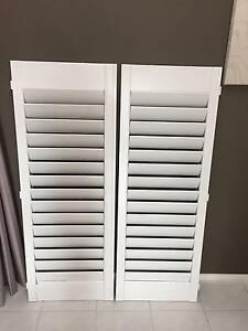 plantation shutters .. white pvc .. Greenfield Park Fairfield Area Preview