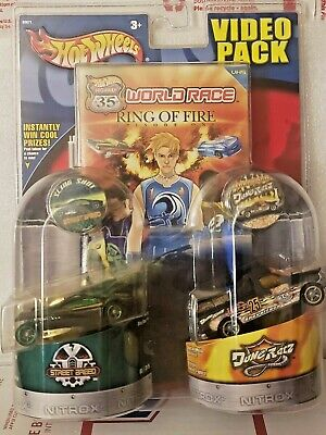 Hot Wheels World Race Highway 35 SLING SHOT & FORD F-150 Video Pack Episode 1