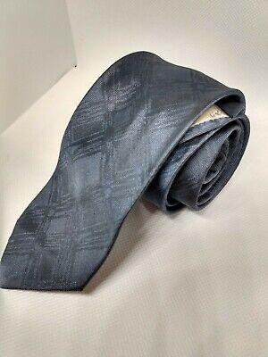 1960s – 70s Men's Ties | Skinny Ties, Slim Ties Christian Dior Vintage 1960s Grey Silk Tie $30.00 AT vintagedancer.com