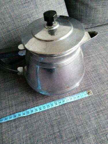 Ancienne cafetière inox bakelite