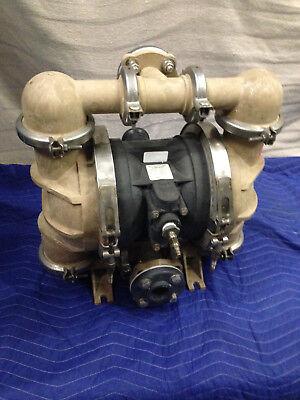 All-flo Bk-15 1-12 Air Double Diaphragm Pump 95 Gpm 150f