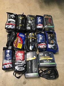 Boxing gloves and other boxing items half price Woombye Maroochydore Area Preview