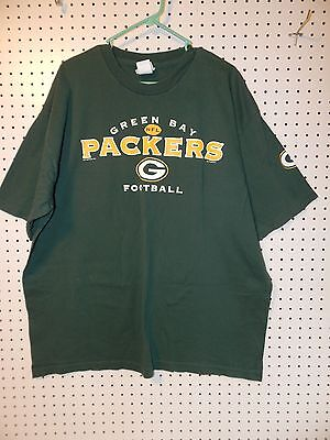 Mens NFL Green Bay Packers short sleeve t-shirt  - 2XLarge
