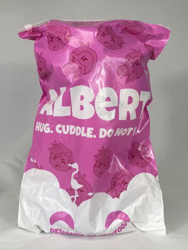 Youtooz Albert Plush (Albert Aretz Flamingo) In Hand Sold Out W/ BAG