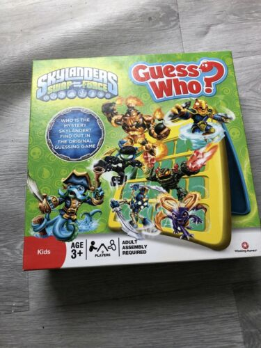 Skylanders Swap Force - Guess Who - The Original Guessing Game - Age 3+