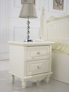 Sienna Oak French Provincial  shabby chic bedside table