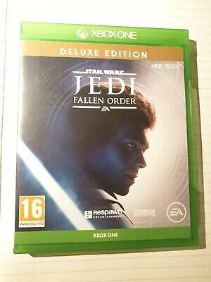 Star Wars JEDI: Fallen Order -- Deluxe Edition (Microsoft Xbox One, 2019)