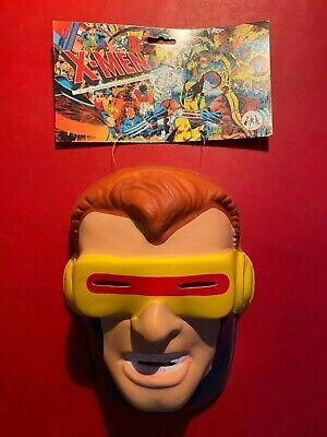 Cyclops X Men Mask (X-MEN CYCLOPS Maschera Mask supereroi fumetti , Sarti (1994) Carnevale NUOVA)