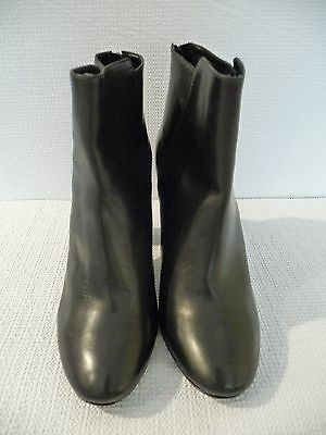 NEW J.CREW COLLECTION RORY ANKLE BOOTS, SIZE 8.5, BLACK, $428