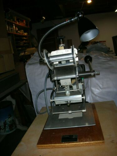 Franklin A-10 Hot Stamping Machine with most accessories