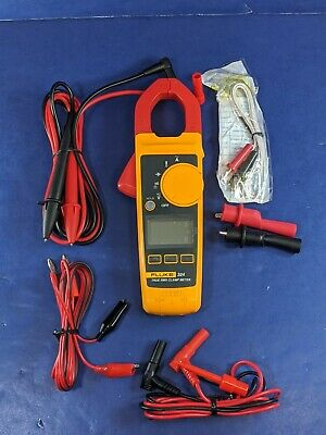 Fluke 324 Trms Multimeter Excellent Accessories Screen Protector