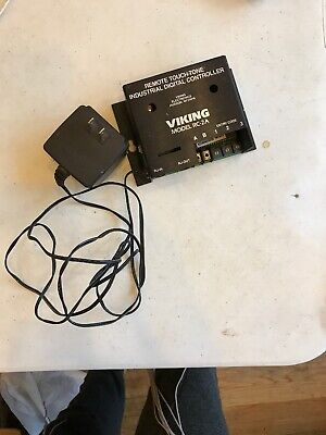 Viking Electronics Rc-2a Remote Touch Tone Industrial Digital Controller