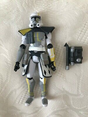 Star Wars Clone Wars ARC Commander Blitz Action Figure Defend Kamino Hasbro 2011