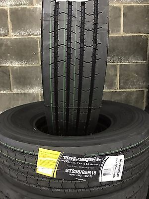 1 NEW ST235/85R16 Tow-Master ASC All Steel Trailer Tire 2358516 14 ply