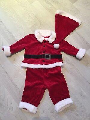 Mütze Fasching Kostüm 56/62/68 3 Teilig (Weihnachts-outfit Jungen)