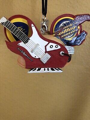 Disney 2020 Hollywood Studios Rockin Roller Coaster Mickey Ear Hat Ornament NWT