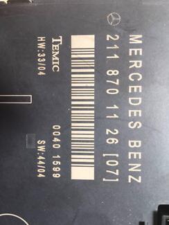 MERCEDES E-CLASS (E220/W211 LEFT FRONT CONTROL MODULE A2118701126 Sydney Region Preview