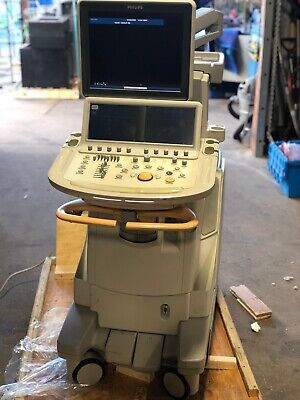 Philips Ie33 Ultrasound System - Powers On - No Probes Included