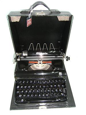 Máquina de escribir Olympia Elite, año 1933/35 serie 692189