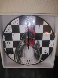 Bonita Home Wall Clock Table Hanging  Rooster.