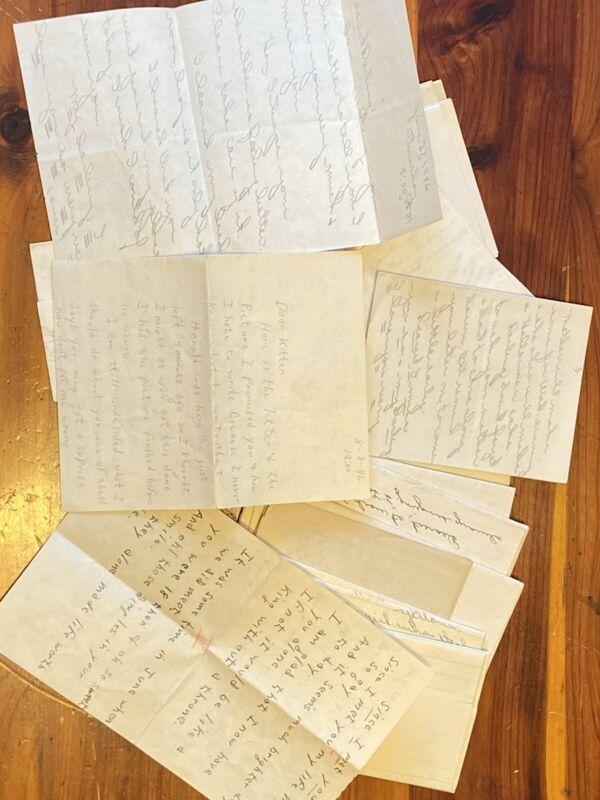 Vintage Handwritten Love Letters Lot-1940s