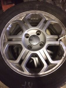 Ford 17 inch alloy Rims and tires