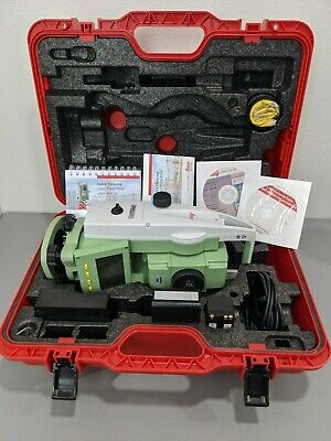 Total Station Leica Ts06 Power-5 R400 Nice A