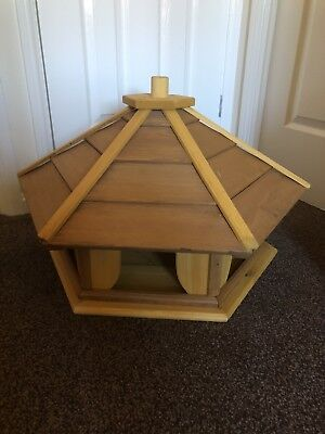 EXTRA EXTRA  LARGE BIRD TABLE/ FEEDER TREATED WOOD