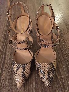 Super sexy strappy shoes - Size 7 - Brand New
