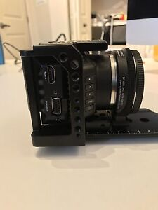 Blackmagic  micro cinema camera with speedbooster