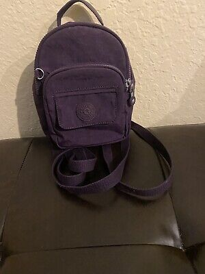 Kipling Mini Backpack In Deep Purple