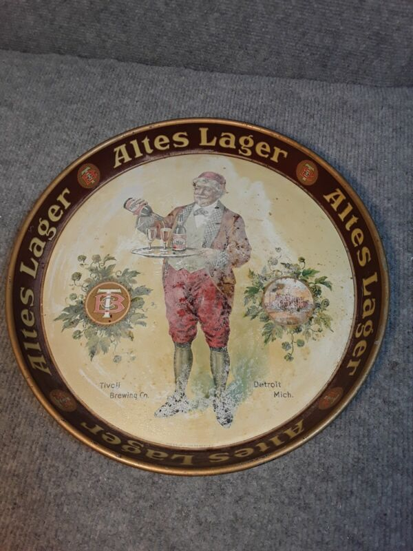 Vintage Rare Tivoli Brewing Co Detroit Mich. Altes Lager 12